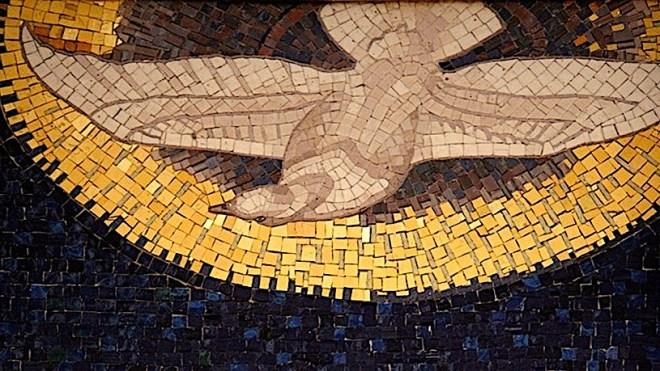 holy spirit mosaic